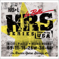 ​Струны для электрогитары La Bella HRS-L Nickel Rounds Light 9-46
