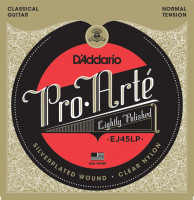 Струны для классической гитары D'Addario EJ45LP Composite Lightly Polished Normal Tension 0.0280-0.0430​