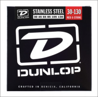​Струны для бас-гитары Dunlop 30-130 Stainless Steel Bass​ DBS