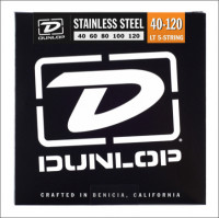 ​Струны для бас-гитары Dunlop 40-120 Stainless Steel Bass DBS