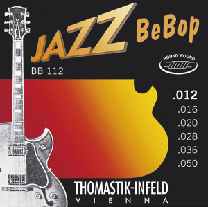 Струны для электрогитары Thomastik BB112 Jazz BeBob 12-50