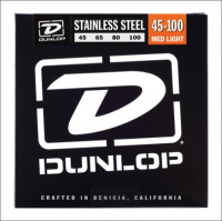​Струны для бас-гитары Dunlop 45-100 Stainless Steel Bass DBS