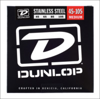 ​Струны для бас-гитары Dunlop 45-105 Stainless Steel Bass DBS