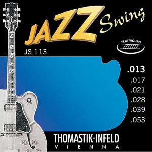 Струны для электрогитары Thomastik JS113 Jazz Swing 13-53